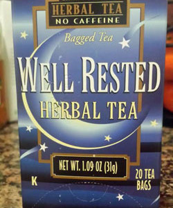 Trader Joe's Well Rested Herbal Tea