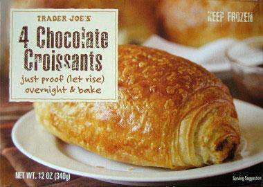Trader Joe's 4 Chocolate Croissants