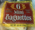 Trader Joe's Mini Baguettes