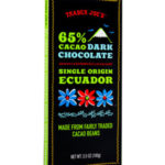 Trader Joe's 65% Cacao Ecuador Dark Chocolate