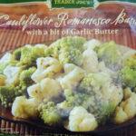 Trader Joe's Cauliflower Romanesco Basilic