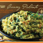 Trader Joe's Creamy Polenta with Spinach & Carrots