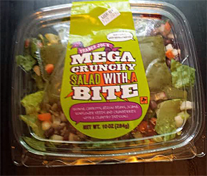 Trader Joe's Mega Crunchy Salad with a Bite