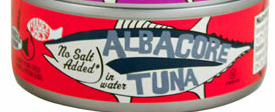 Trader Joe's Canned Albacore Tuna (No Salt Added)