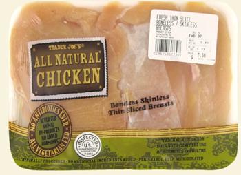 Trader Joe's All Natural Chicken Breasts