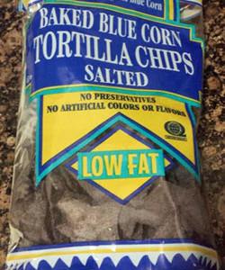 Trader Joe's Baked Blue Corn Tortilla Chips
