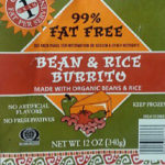 Trader Joe's Bean & Rice Burrito