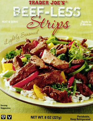 Trader Joe's Beef-less Strips