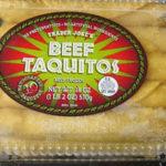 Trader Joe's Beef Taquitos