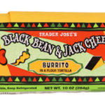 Trader Joe's Black Bean & Jack Cheese Burrito