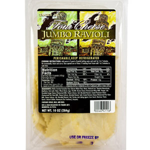 Trader Joe's Four Cheese Jumbo Ravioli