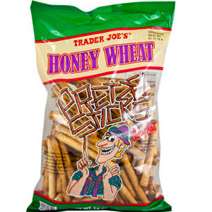 Trader Joe's Honey Wheat Pretzel Sticks