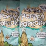 Trader Joe's Partially Popped Popcorn