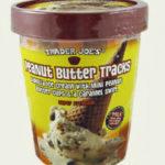 Trader Joe's Peanut Butter Tracks Ice Cream