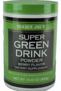 Trader Joe's Super Green Drink Powder