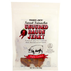 Trader Joe's Sweet Sriracha Uncured Bacon Jerky