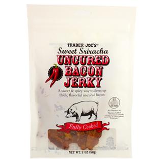 Trader Joe's Sweet Sriracha Uncured Bacon Jerky