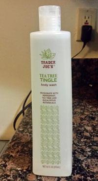 Trader Joe's Tea Tree Tingle Body Wash