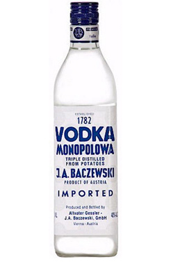 Trader Joe's Vodka Monopolowa