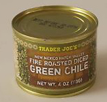 Trader Joe's Hatch Valley Fire Roasted Diced Green Chile