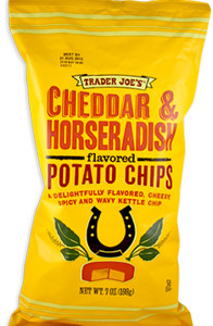 Trader Joe's Cheddar & Horseradish Potato Chips