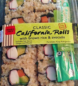 Trader Joe's Classic California Rolls