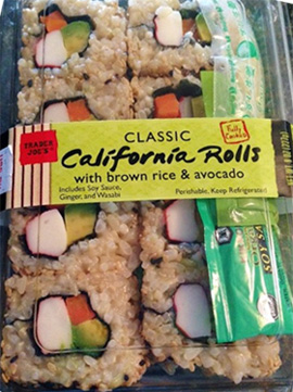 Trader Joe's Classic California Rolls