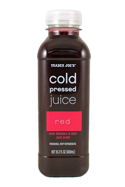 Trader Joe's Cold Pressed Red Juice