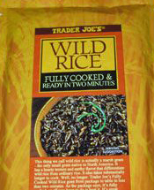Trader Joe's Fully Cooked Wild Rice