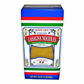 Trader Joe's Italian Lasagna Noodles