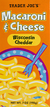 Trader Joe's Macaroni & Cheese Wisconsin Cheddar