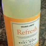 Trader Joe's Refresh Citrus Body Wash