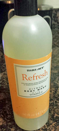Trader Joe's Refresh Citrus Body Wash