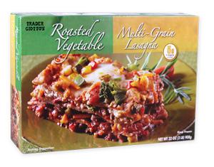 Trader Joe's Roasted Vegetable Multi-Grain Lasagna