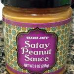 Trader Joe's Satay Peanut Sauce