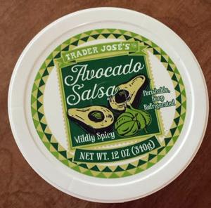 Trader Joe's Avocado Salsa