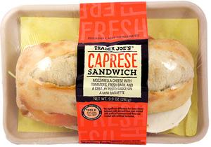 Trader Joe's Caprese Sandwich