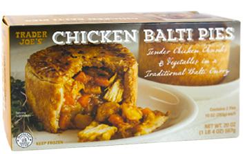 Trader Joe's Chicken Balti Pies