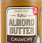 Trader Joe's Crunchy Raw Almond Butter