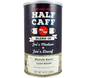 Trader Joe's Half Caff Coffee