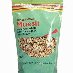 Trader Joe's Muesli