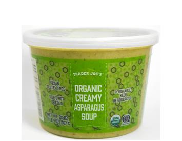 Trader Joe's Organic Creamy Asparagus Soup