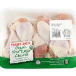 Trader Joe's Organic Free Range Chicken Drumsticks