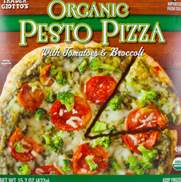 Trader Joe's Organic Pesto Pizza