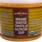 Trader Joe's Organic Roasted Tomatillo Gazpacho