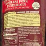 Trader Joe's Peppercorn-Garlic Pork Tenderloin
