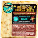 Trader Joe's Smoked Chile Cheddar Cheese