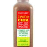 Trader Joe's Strawberry Chia 100% Juice Smoothie