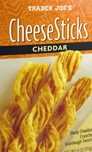 Trader Joe's Cheddar CheeseSticks