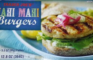 Trader Joe's Mahi Mahi Burgers